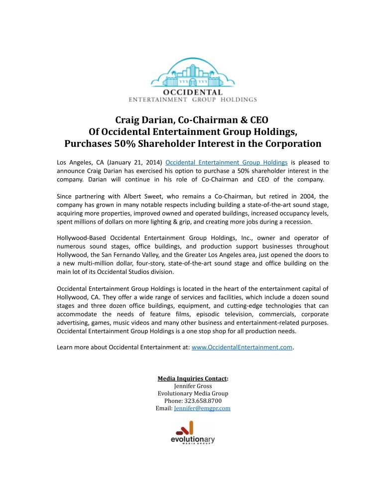 Press-Release-Craig-Darian-2014_775x1000